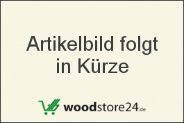Sockelleiste Eiche furniert für Parkett und Massivholzdielen, 60 x 15 mm, 240 cm lang, klar oder weiß lackiert