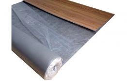 1 mm Viscoclick Trittschallunterlage für Klick-Vinyl, Rolle a 15 m²