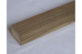 Kiefer KDI Unterkonstruktion, gehobelt, gefast, 45 x 70 mm, 3 m lang