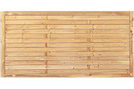 Sichtschutzzaun Holz Kiefer/Fichte 180 x 90 cm (Serie Föhr)