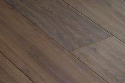 Eiche Landhausdiele Rustikal / Click Parkett, handgehobelt, gealtert, weiß geölt, 14 x 190 x 1850 mm (2,812 m² / Paket)