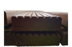 Bangkirai Terrassendielen AD, 7 Rillen Kombiprofil, 45 x 145 mm in den Längen 3,05 m / 3,96 m