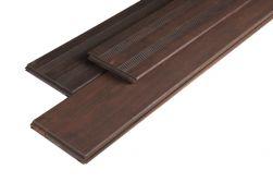 Terrassendielen Bambus, französisch / glatt, espresso, 20 x 139 x 1870 mm, 3 St. / PE