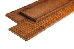 Terrassendielen Bambus, grob genutet / fein geriffelt, coffee, 20 x 200 x 2200 mm, 3 St. / PE
