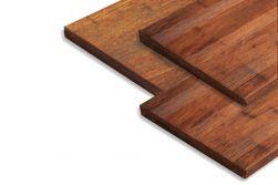 Terrassendielen Bambus Massivplatte, französisch / glatt, coffee, 30 x 300 x 950 mm