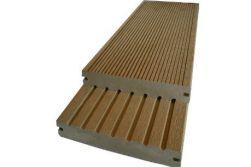 BPC / WPC Massivdiele WoodoSaba, 20 x 145 mm, dunkelbraun, 2. Wahl / Restposten / Mengen und Längen n. Absprache