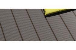 WPC Terrassendiele, coextrudiert, grau, Hohlkammerdiele, 22 x 143 mm in den Längen 3 m und 4,2 m