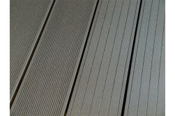 BPC Hohlkammerdiele WoodoElba,  22 x 140 mm, grau, beidseitig begehbar, in den Längen 2,9 m / 4 m