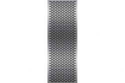 elevato® Dekorelemente 65 x175 cm Edelstahl