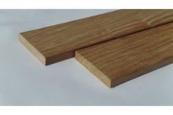 Garapa Terrassendielen, KD, glatt / glatt, 21 x 120 mm in den Längen 2,44 m, 3,05 m und 3,96 m