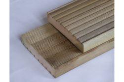 Kiefer KDI Dielen, KD, Standardprofil grob / fein, 28 x 145 mm, 3 m lang