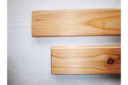 Lärche / Douglasie Pferdestallbohlen, 38 x 135 mm, allseitig gehobelt, 10 mm Nut gefast und gekappt, mit Nut und Feder, auf Wunschlänge gekappt, Deckmaßberechnung, Längen auf Anfrage