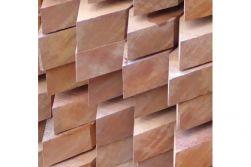 Bongossi Pfähle 40 x 60 mm, sägerau angespitzt, 1,55 / 1,85 / 2,25 m lang