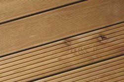 Sibirische Lärche Riffeldiele, grob / fein geriffelt, in Deutschland gehobelt, 27 x 145 mm, 3 m lang
