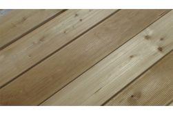Sibirische Lärche Terrassendiele grob / fein, 45 x 143 mm, in den Längen 3 m - 6,0 m 2 Stk. / PE