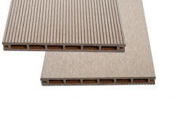 Einzelelement Resysta Zaun / Sichtschutz / Steckzaunsystem 200 mm (Höhe) x 20 mm (Stärke) x 1800 mm (Breite) (Serie WoodoAmmeland)