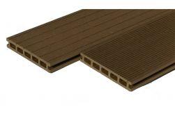 BPC Hohlkammerdiele WoodoElba,  22 x 140 mm, sandfarbend, beidseitig begehbar, in den Längen 2,9 m und 4 m
