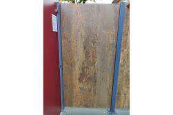 HPL Zaunelement / Sichtschutz / Designzaun 6 mm (Stärke) x 1800 (Höhe) x 900 (Breite) mm, Rost (ohne Pfosten)