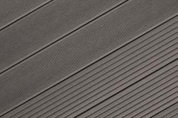 BPC Terrassendiele, Hohlkammerdiele WoodoIbiza 25 x 145 mm, anthrazit, in den Längen 2,9 m und 4 m