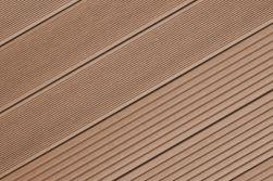 BPC Terrassendiele, Hohlkammerdiele WoodoIbiza 25 x 145 mm, dunkelbraun, in den Längen 2,9 m und 4 m