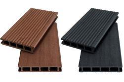WPC Hohlkammerdiele WoodoKorfu, 20 x 120 mm, 1 Meter lang,in rehbraun oder anthrazit, geriffelt / glatt, beidseitig begehbar