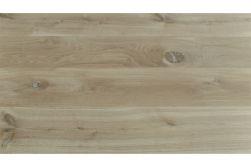 Massive 2-Schicht Eichen Schlossdiele, WoodoNatur 15,5 x 180 x 2400 mm, roh unbehandelt (2,592 m2 / Paket)