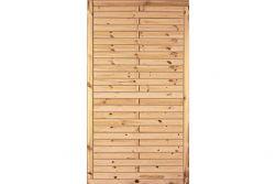 Sichtschutzzaun Holz Kiefer/Fichte 100 x 180 cm (Serie Föhr)