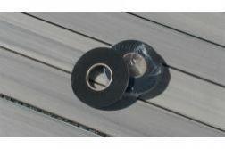 Sicherungsband für WPC UK, schwarz, Rolle 10 Meter, einseitig selbstklebend  (Serie Woodstore)